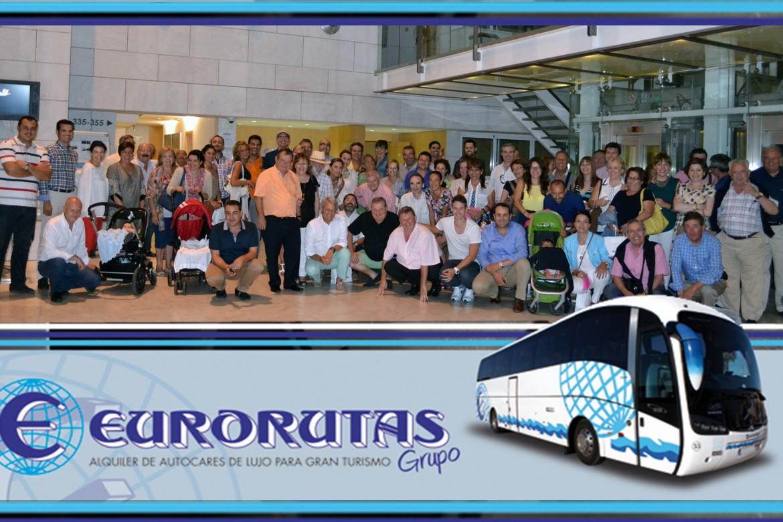 Los socios de Grupo Eurorutas